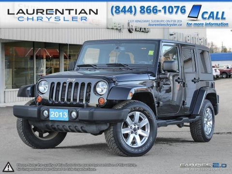 Pre-Owned 2013 Jeep Wrangler -THE TOUGHEST 4-LETTER ON WHEELS! Four Wheel Drive Convertible