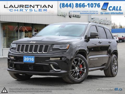 Pre-Owned 2016 Jeep Grand Cherokee -SRT! Four Wheel Drive Sport Utility