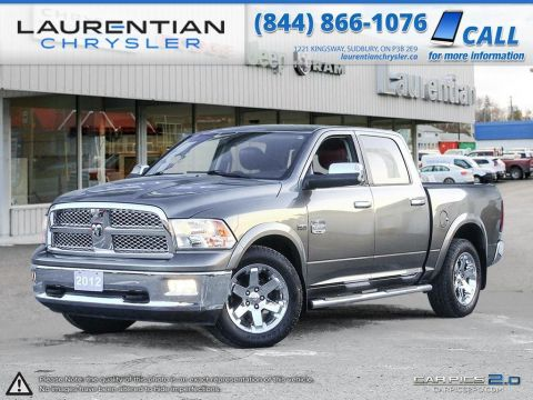 Pre-Owned 2012 Ram 1500 Laramie Longhorn-5.7L HEMI!-ADJUSTABLE PEDDLES, HEATED/COOLED SEATS! With Navigation