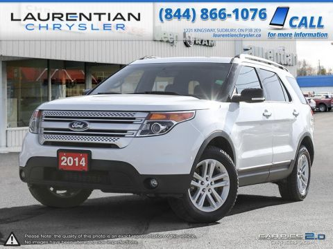 Pre-Owned 2014 Ford Explorer XLT-DESIGNED FOR LIVING, ENGINEERED TO LAST! 4WD