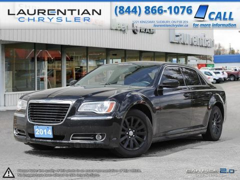 Pre-Owned 2014 Chrysler 300 -STEERING WHEEL CONTROLS, BLUETOOTH, HEATED SEATS!! Rear Wheel Drive 4dr Car