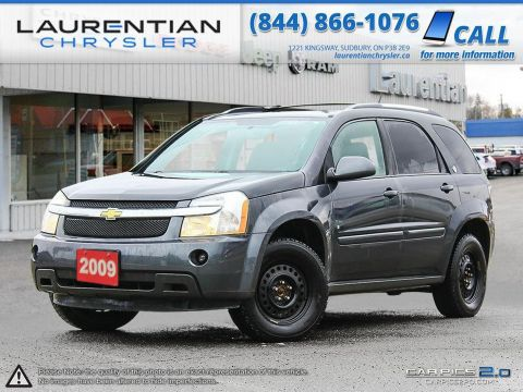 Pre-Owned 2009 Chevrolet Equinox LT-SELF CERTIFY!!!-SUNROOF, CLOTH SEATS, CD PLAYER! FWD Sport Utility