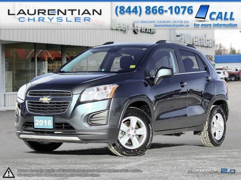 Pre-Owned 2016 Chevrolet Trax LT- ALL WHEEL DRIVE, BACKUP CAM, BLUETOOTH!!! All Wheel Drive Sport Utility