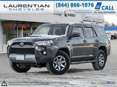 Pre-Owned 2016 Toyota 4Runner SR5- BLUETOOTH, LEATHER, SUNROOF, NAVIGATION!! 4WD
