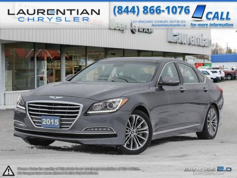 Pre-Owned 2015 Hyundai Genesis -LUXURY AT ITS FINEST! AWD