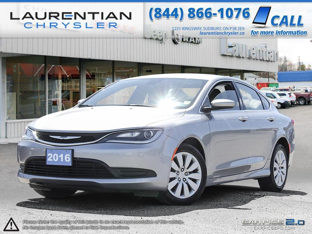 Pre Owned 2016 Chrysler 200 Lx Company Demo 4dr Car In