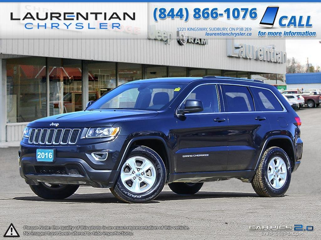 pre owned 2016 jeep grand cherokee laredo sport utility in sudbury 1272a laurentian chrysler. Black Bedroom Furniture Sets. Home Design Ideas