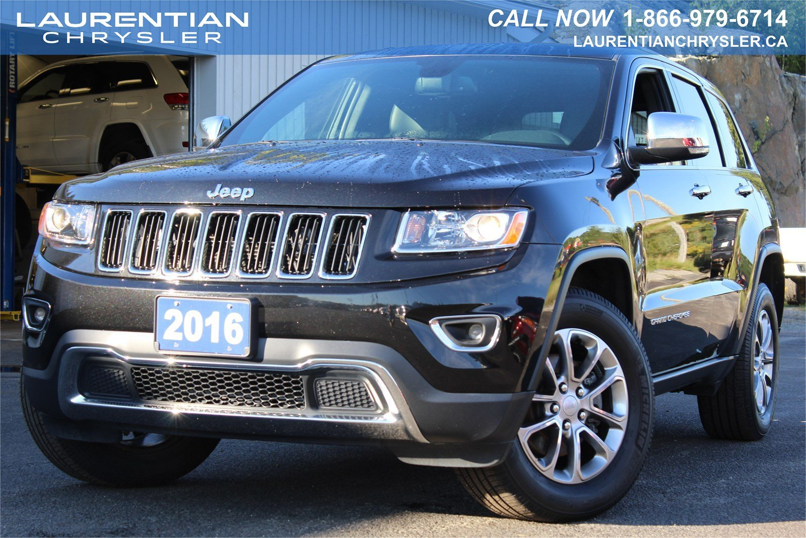 pre owned 2016 jeep grand cherokee limited 4x4 leather. Black Bedroom Furniture Sets. Home Design Ideas