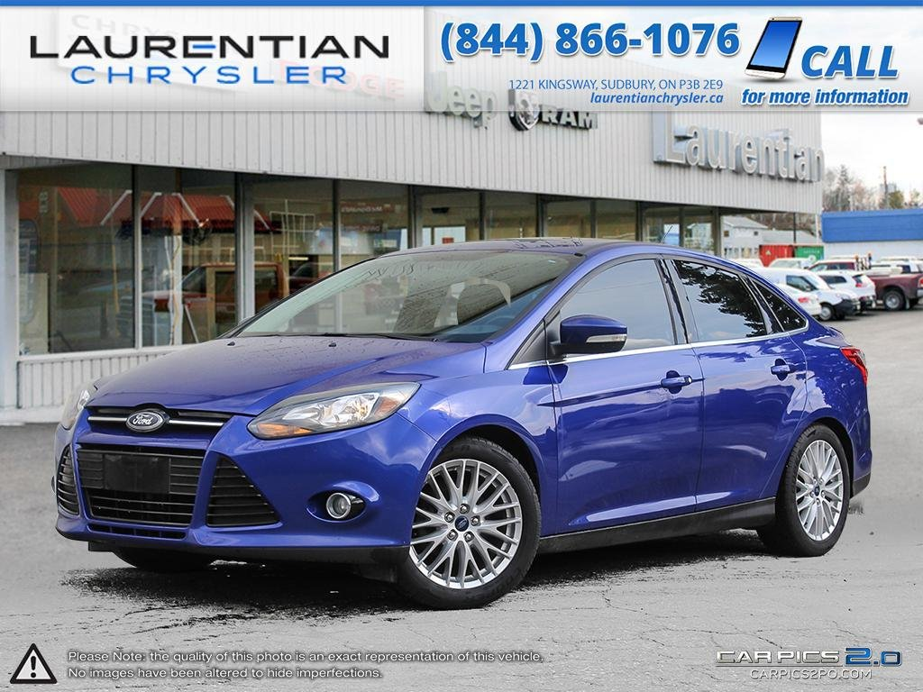 Pre-Owned 2014 Ford Focus Titanium-LEATHER HEATED SEATS,SUNROOF, CAMERA, 1 OWNER!!