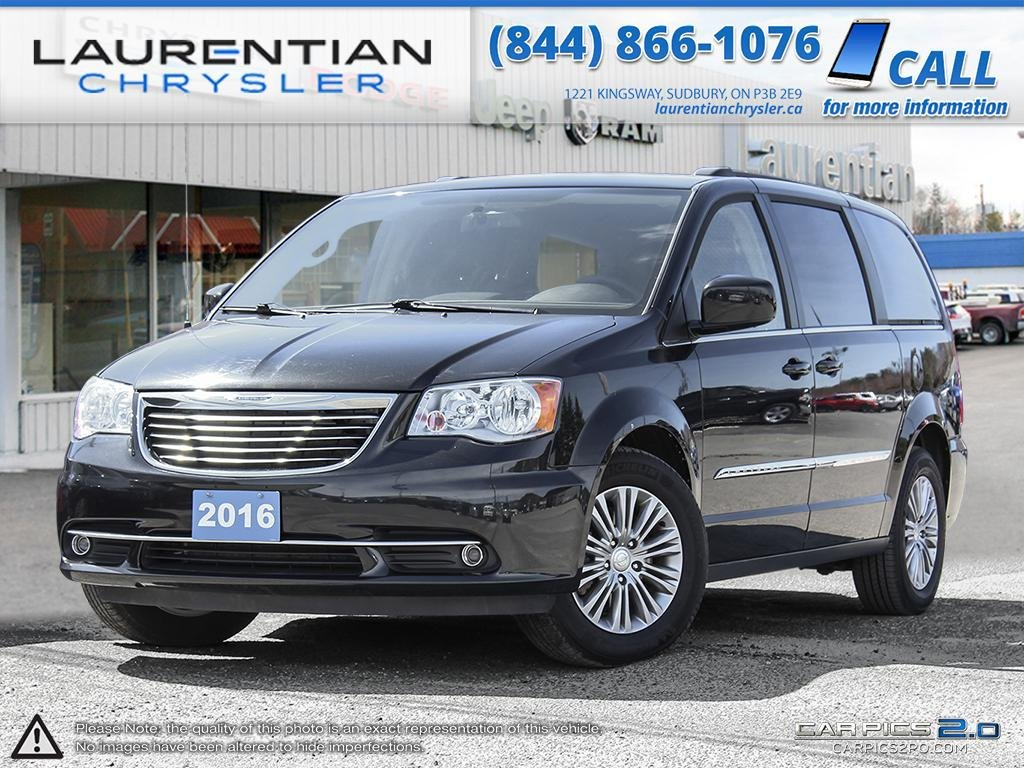 pre owned 2016 chrysler town country the ultimate luxury minivan mini van passenger in. Black Bedroom Furniture Sets. Home Design Ideas