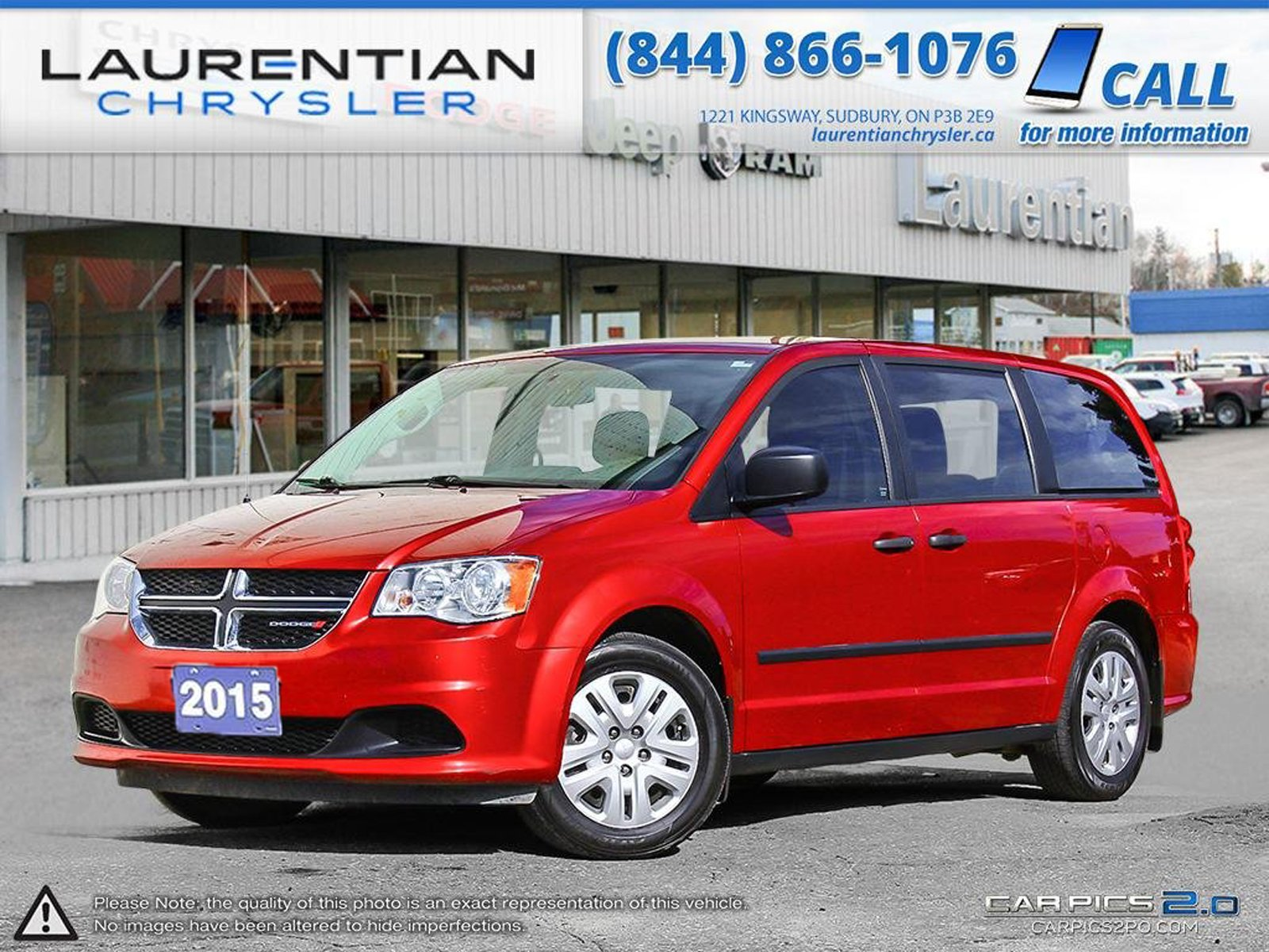 Pre-Owned 2015 Dodge Grand Caravan -REAR STOW & GO,REMOVABLE CENTER ROW, HEATED MIRRORS!