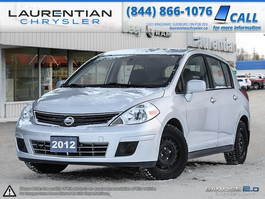 pre owned 2012 nissan versa winter summer tires rims hatchback in sudbury 160150a. Black Bedroom Furniture Sets. Home Design Ideas