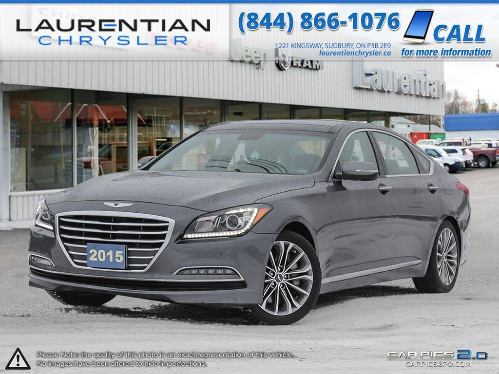 Pre-Owned 2015 Hyundai Genesis -LUXURY AT ITS FINEST!
